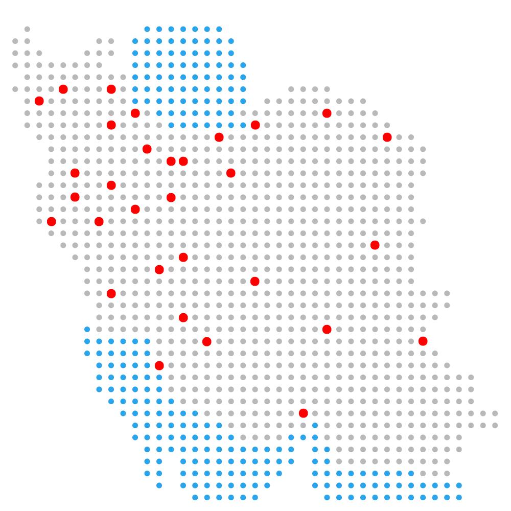 نقشه ایران و اروم پشتیبان سیستم